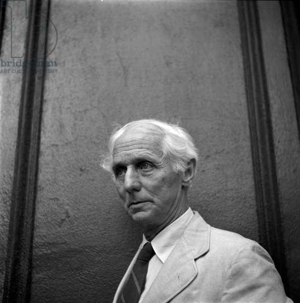 Max Ernst, Paris, c.1955 (b/w photo)