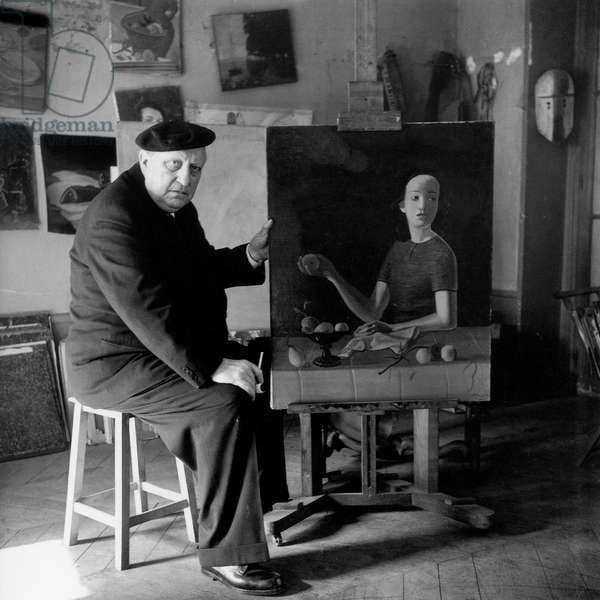 André Derain (b/w photo)