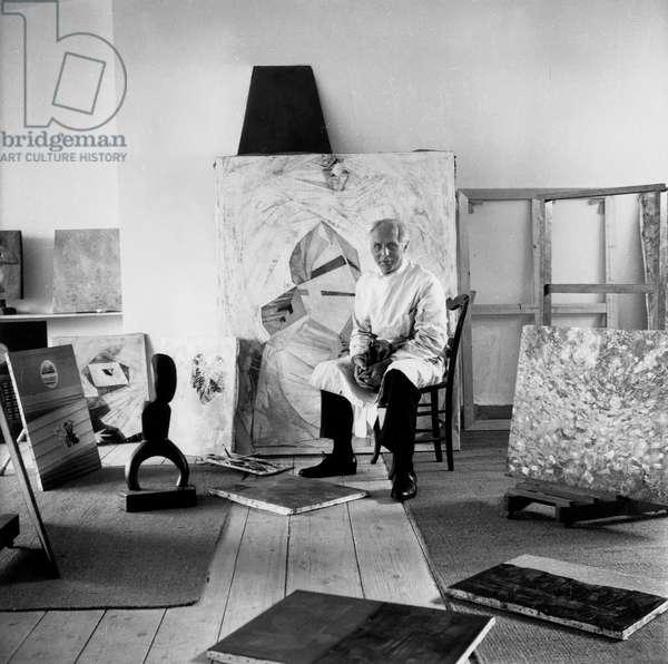 Max Ernst (b/w photo)