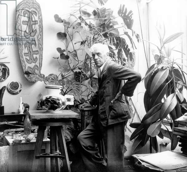 Georges Braque (b/w photo)