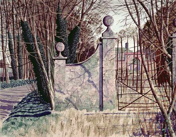 The Orchard, 1995 (w/c on paper)