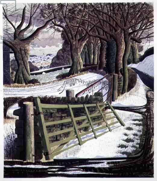 Winter Solstice, 1996 (w/c on paper)