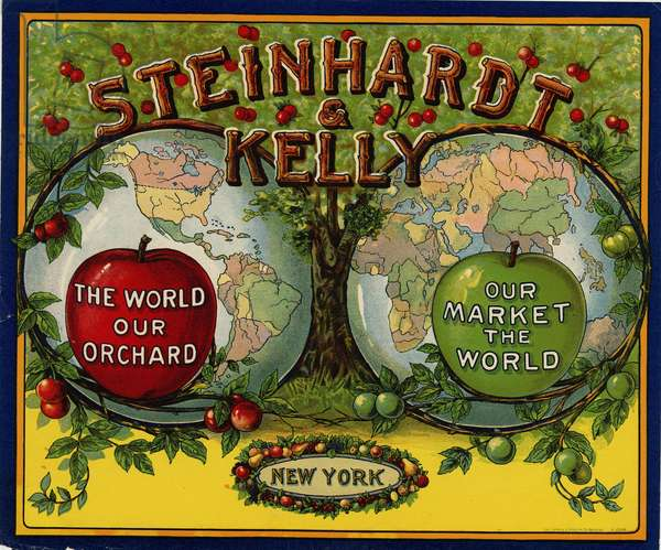 Steinhardt & Kelly, New York (colour litho)
