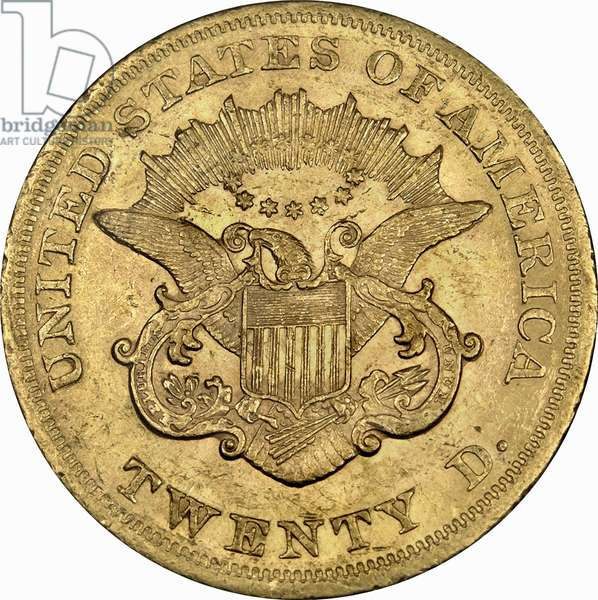 20 Dollars, 1865 (gold) (reverse of 5858160)