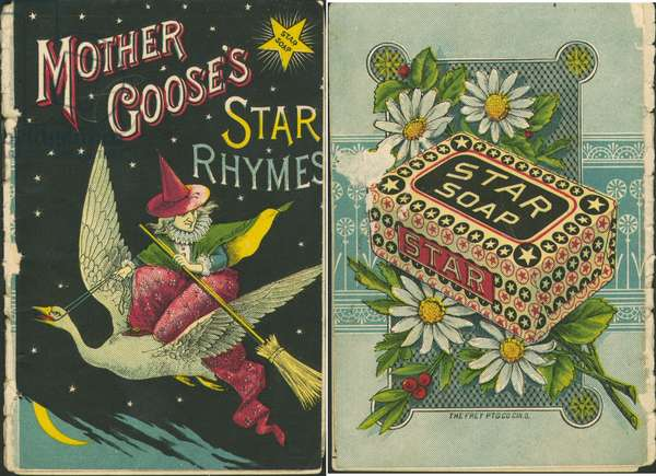 """Mother Goose's Star Rhymes"", booklet of nursery rhymes for Star Soap (colour litho)"