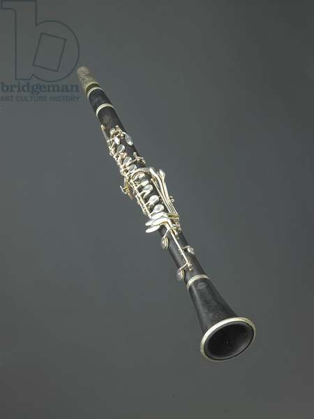 Paquito D'Rivera's first clarinet, c.1950 (wood & metal)