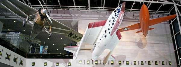 Milestones of Flight Gallery, Smithsonian National Air and Space Museum (photo)