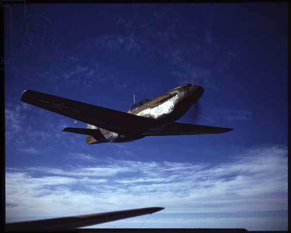 North American P-51B Mustang (photo)