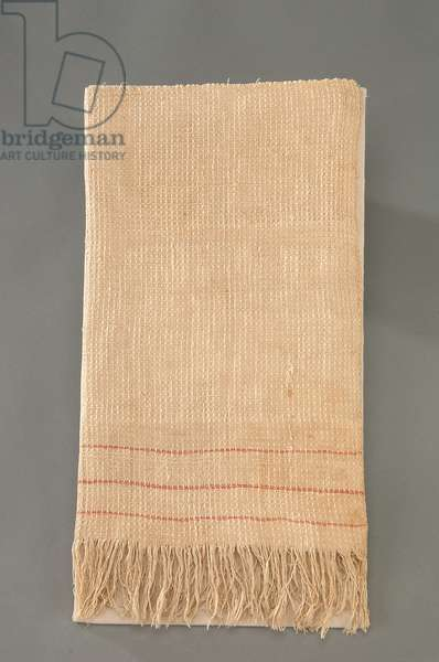 Flag of Truce, Appomattox Towel, c.1861-65 (linen)