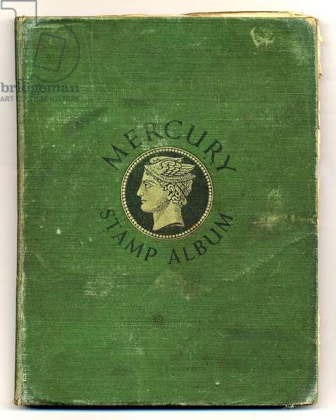 John Lennon's Stamp Album (cloth-bound book)