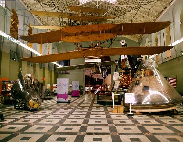 North Hall of the Arts and Industries Building, National Air and Space Museum, 1973 (photo)