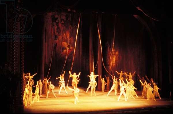 Bolshoi Ballet perform Prokofiev 's 'Ivan the Terrible', London, 1986