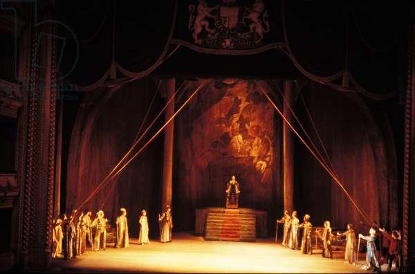 Bolshoi Ballet perform Prokofiev's 'Ivan the Terrible', London, 1986