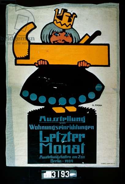 Letzer Monat (colour litho)