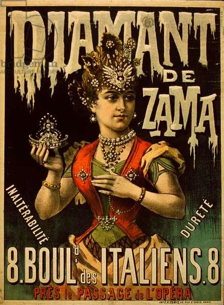 Diamant De Zama poster (colour litho)