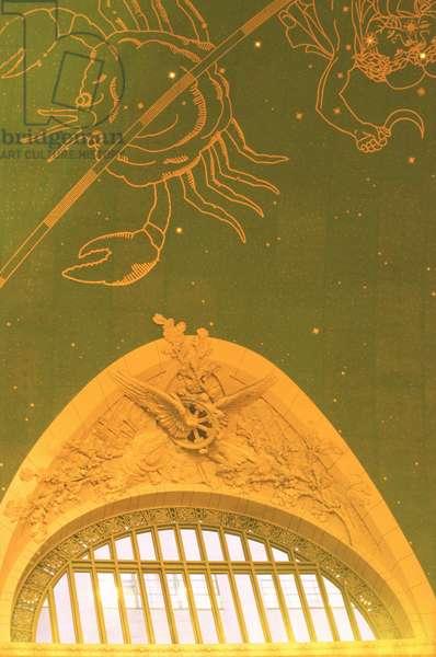 Mural depicting the Zodiac (photo)