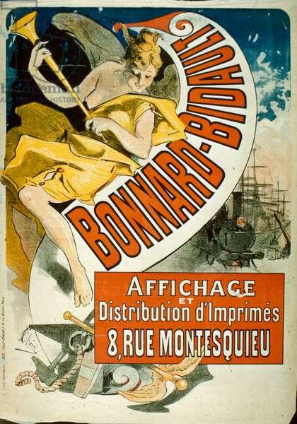 Bonnard-Bidault, 1896 (colour litho)