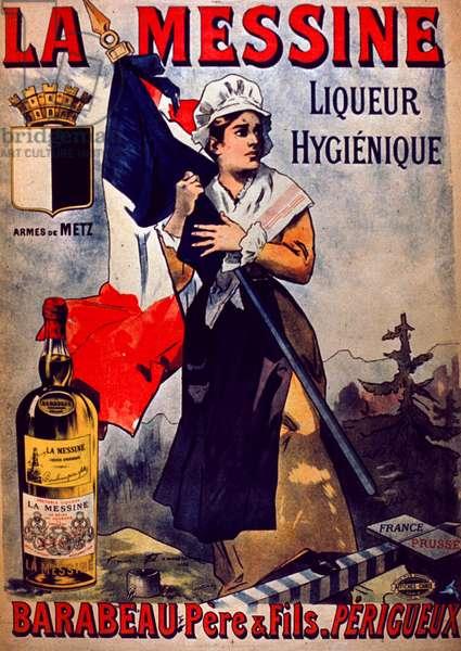 La Messine Liqueur Hygienique Advertisment (colour litho)
