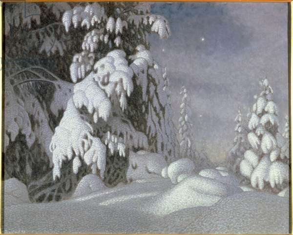 Winter Moonlight, 1895 (oil on canvas)