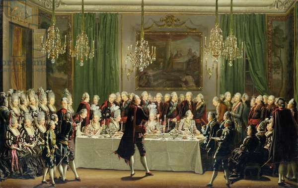 Stockholm Palace, New Year's Eve 1779 (oil on canvas)