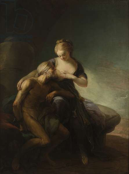 Roman Charity, an Allegory of Love (oil on canvas)