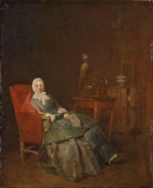 Domestic Pleasures (oil on canvas)