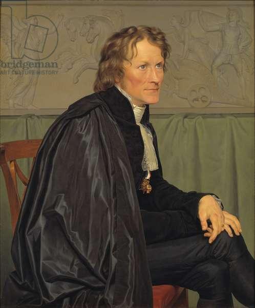 Bertel Thorvaldsen (1770-1844) (oil on canvas)