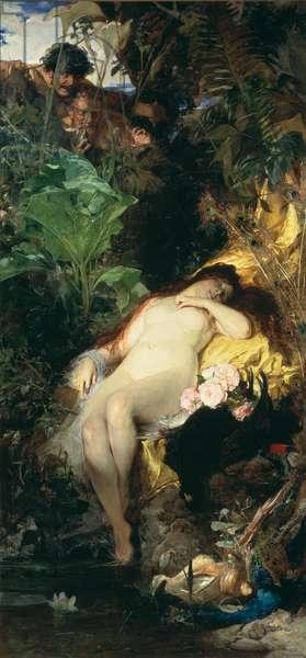 Cupid, 1878 (oil on canvas)