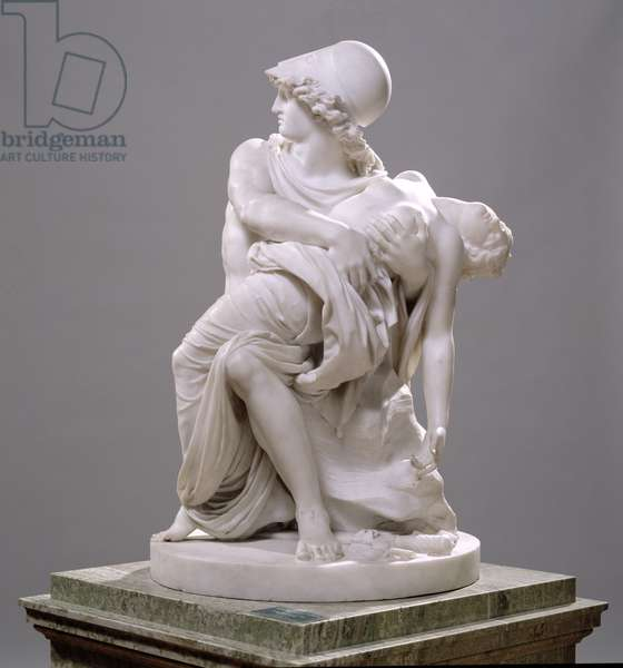 Mars and Venus (Carrara marble)