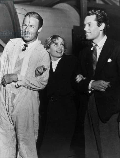 Henry Fonda, Carole Lombard et Randolph Scott