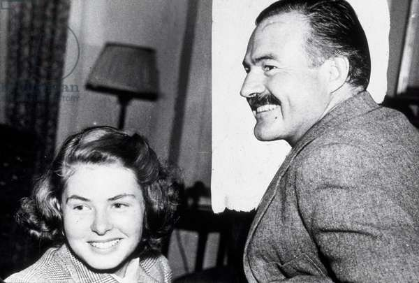 Ingrid Bergman et Ernest Hemingway