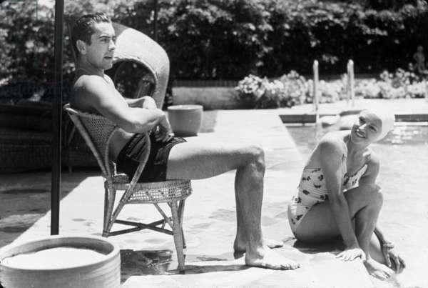 Anabella et Tyrone Power