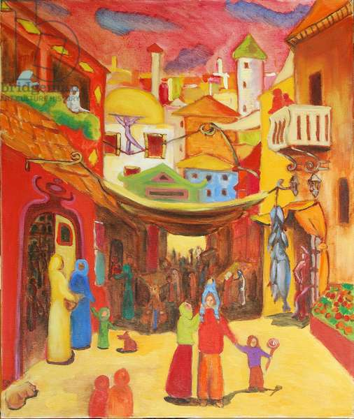 Alger, 2004 (oil on canvas)