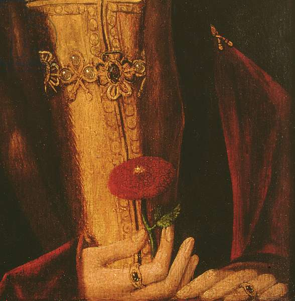 Henry VII (oil on panel) (detail of 235451)