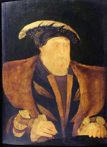 Henry VIII (1491-1547) (oil on panel)