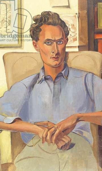 Portrait of Stephen Spender (oil on canvas)