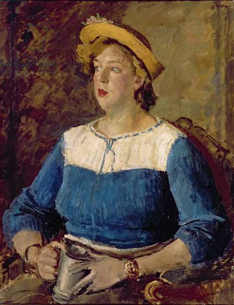 Brigit, 1937 (oil on canvas)