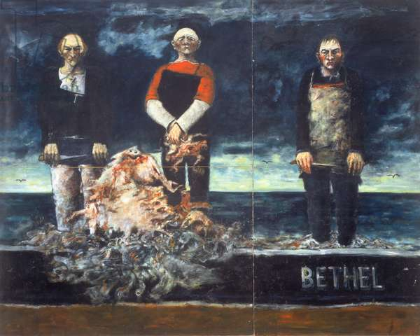 Bethel, 1967 (oil on board)