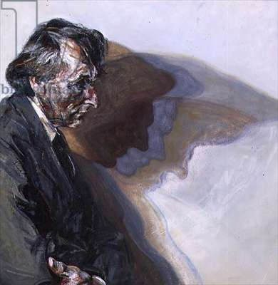 Mac with Shadows, 1981 (oil on canvas)