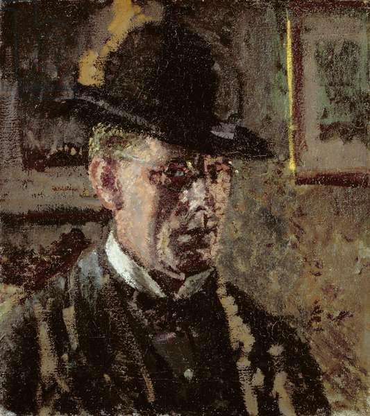 The Juvenile Lead (Self Portrait), 1907 (oil on canvas)