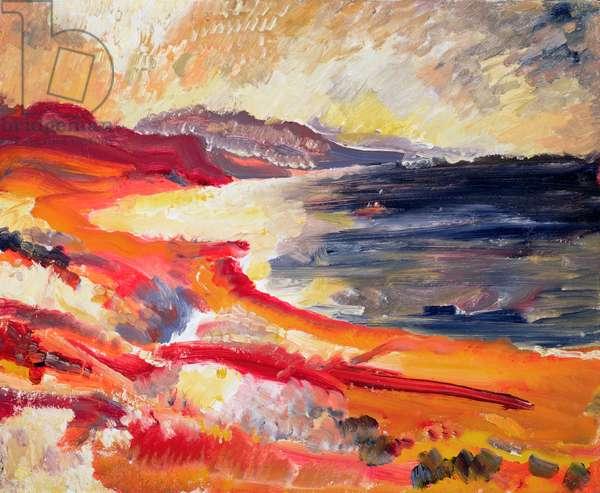 Cyprus, 1948 (oil on canvas)