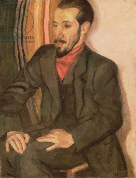 Portrait of Horace Brodsky (1885-1969) 1915 (oil on canvas)