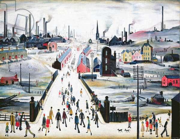 The Canal Bridge, 1949 (oil on canvas)