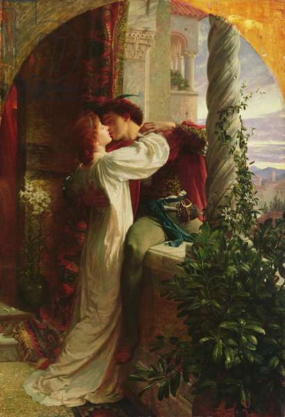 Romeo and Juliet, 1884 (oil on canvas)