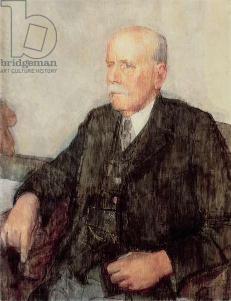Portrait of E.A. Smith-Rewse (oil on canvas)