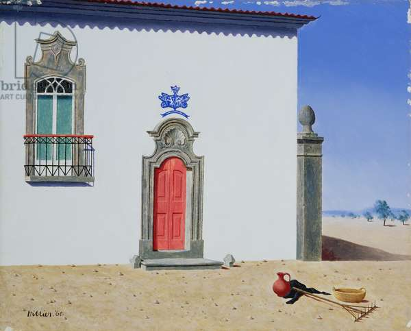 Portuguese Farmhouse, 1960 (panel)