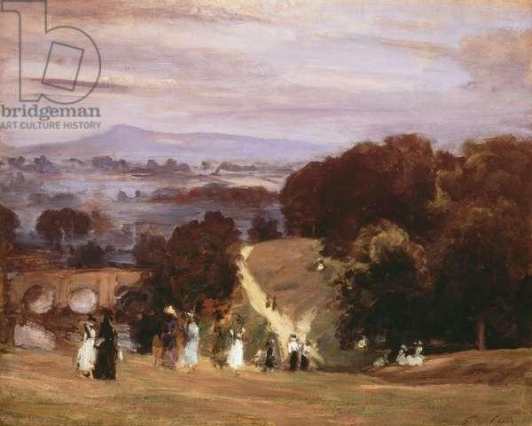 Ludlow Walks, 1899 (oil on canvas)