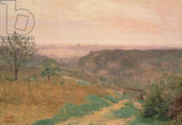 Ville D'Avray, Hauts-de-Seine (oil on canvas)
