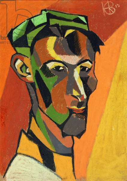 Self Portrait, 1913 (pastel on paper)