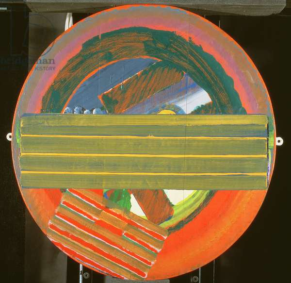 Simon Digby Talking, 1972-75 (oil on wood)